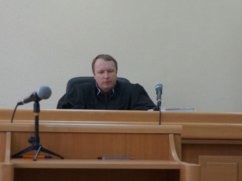 Судья Андрей Рябов. Фото: © «ДЕНЬ.org»