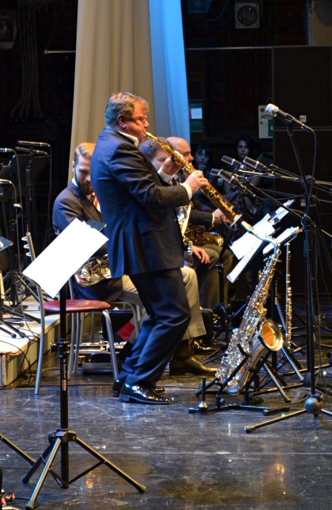 Полет на сопрано-саксофоне. Фото: Александр Поскребышев