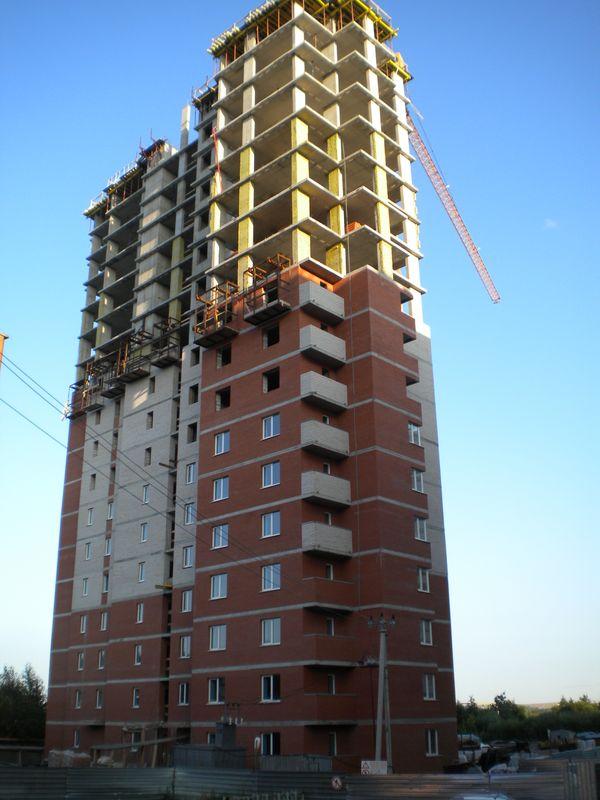 Строящийся дом для сирот на ул. Ракетной в Ижевске. Фото ©День.org