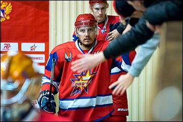 Капитан «Ижстали» Антон Кочуров. Фото: vhlru.ru