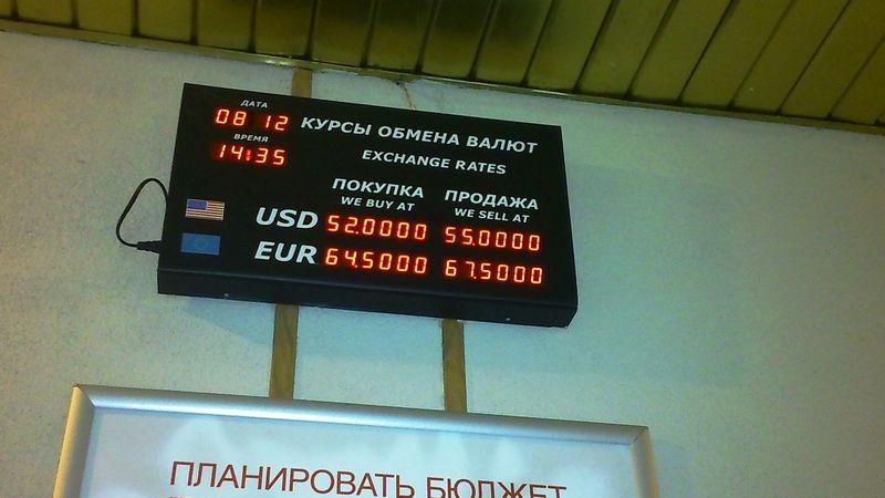 Почти тот же курс рубля к доллару в начале декабря прошлого года вызывал панику, а сегодня успокоение.