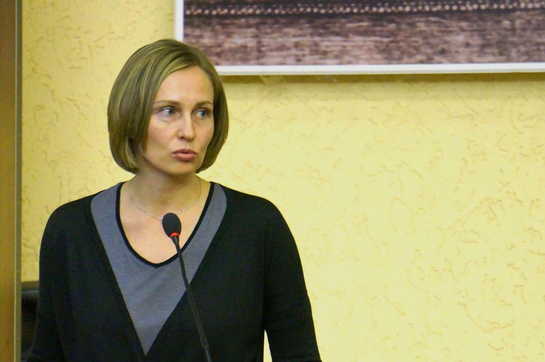 Руководитель фракции КПРФ Мария Бобылева. Фото ©«ДЕНЬ.org»