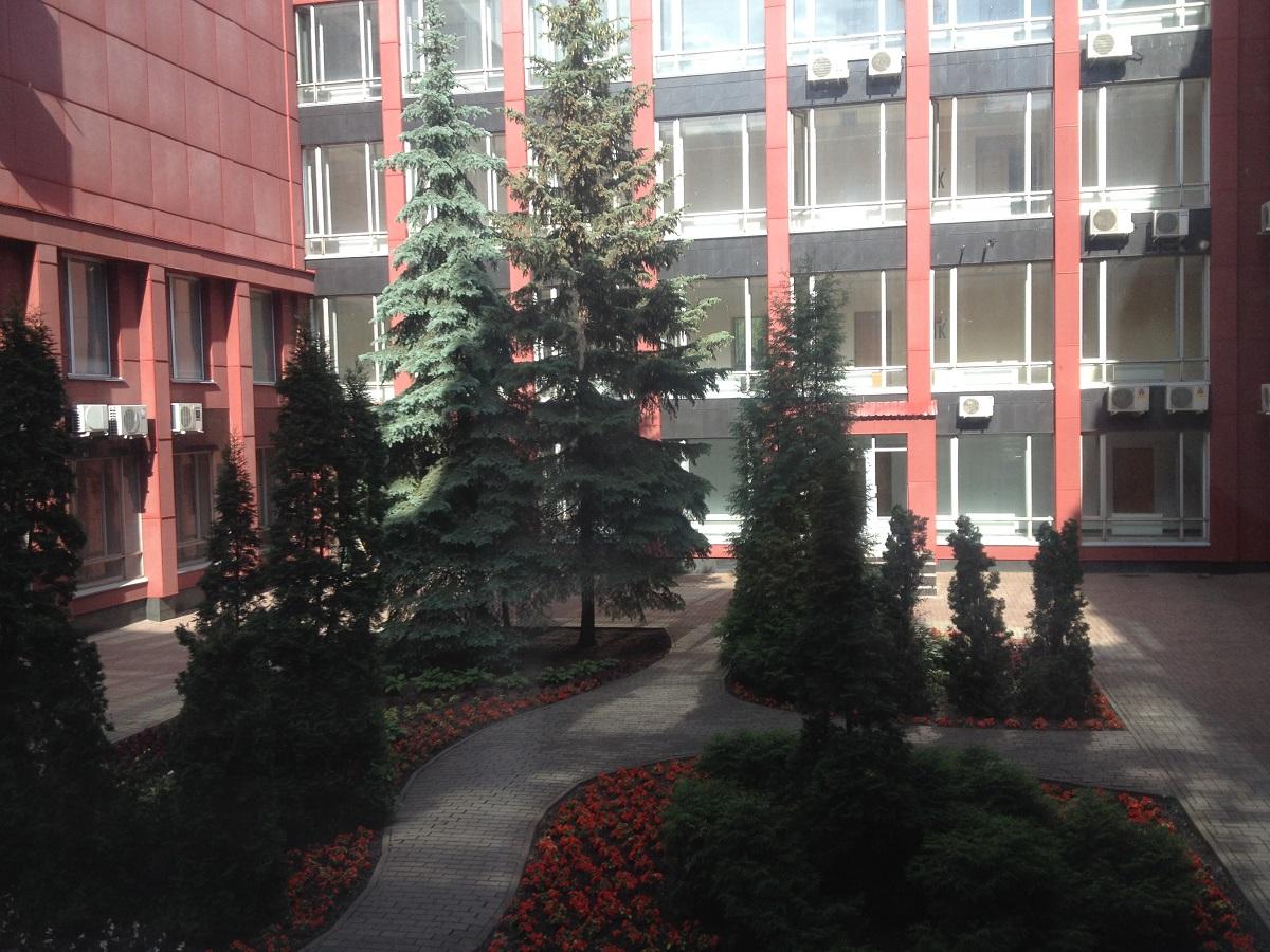 То, что внутренний дворик администрации Ижевска красив и ухожен, уже вселяет определенный оптимизм. Фото: © «ДЕНЬ.org»