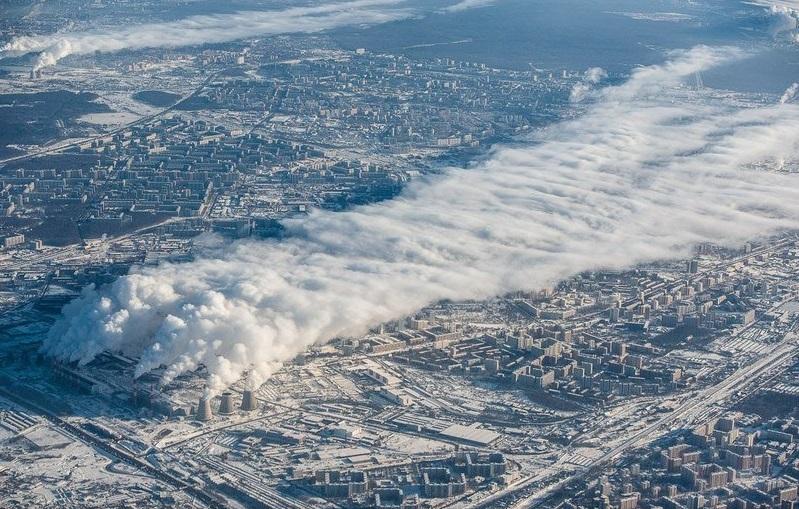 Так выглядит Москва зимой с высоты птичьего полета.Фото: mpics.ru