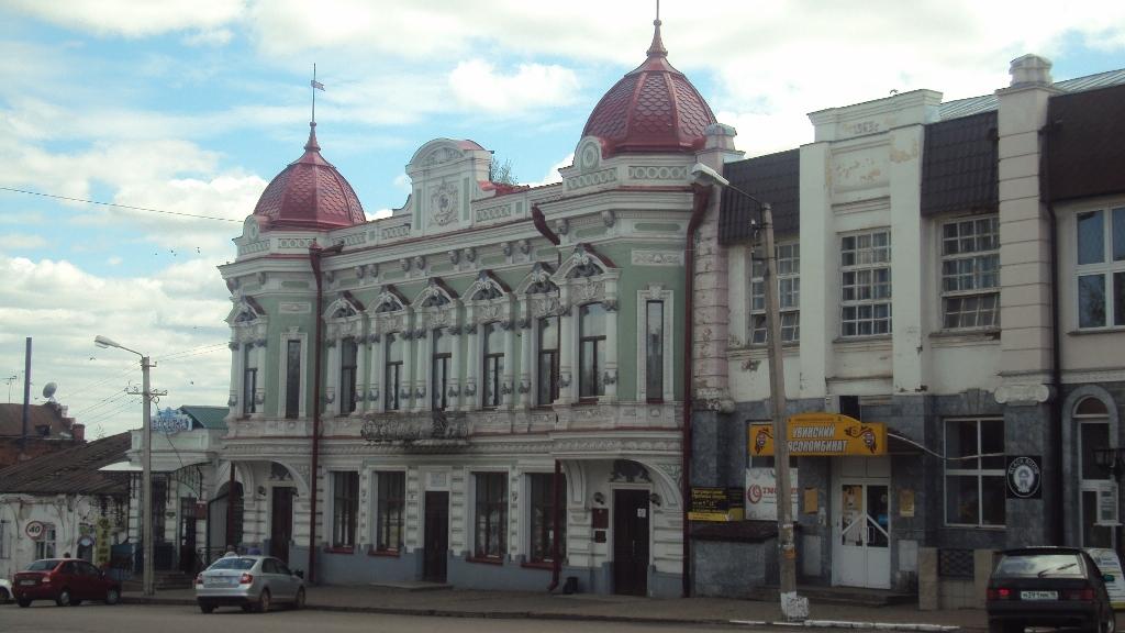 Дом купца Корешева, ныне - ЗАГС. Фото: © «ДЕНЬ.org»