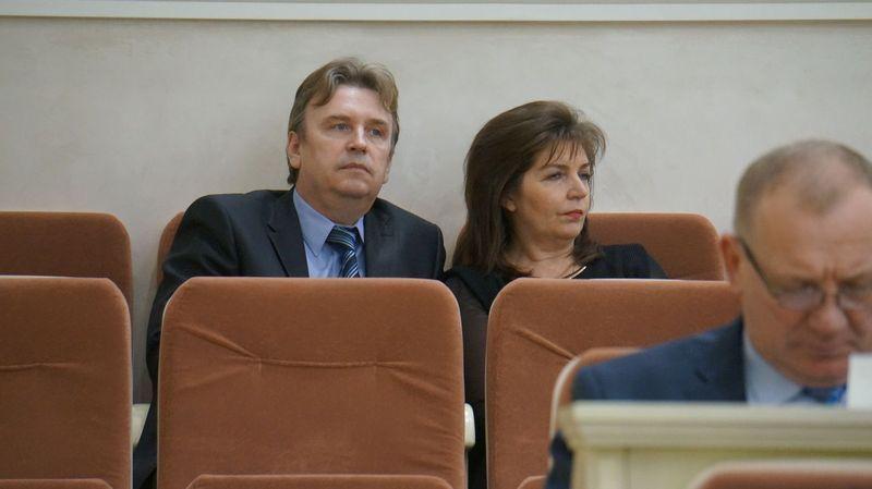 Кандидатуры на вылет — замы Татьяна Демина и Сергей Тоцкий. Фото ©День.org