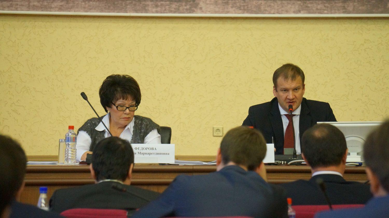 Фания Федорова и Олег Гарин. Фото: © «ДЕНЬ.org»