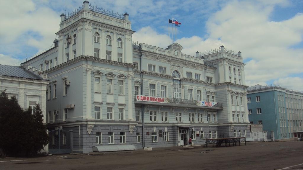 Закрытое совещание по моногородам проходило в здании администрации Сарапула. Фото: © «ДЕНЬ.org»