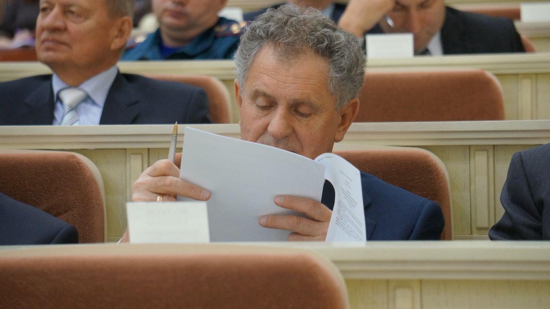 Александр Волков на сессии Госсовета УР 24 ноября. Фото ©День.org