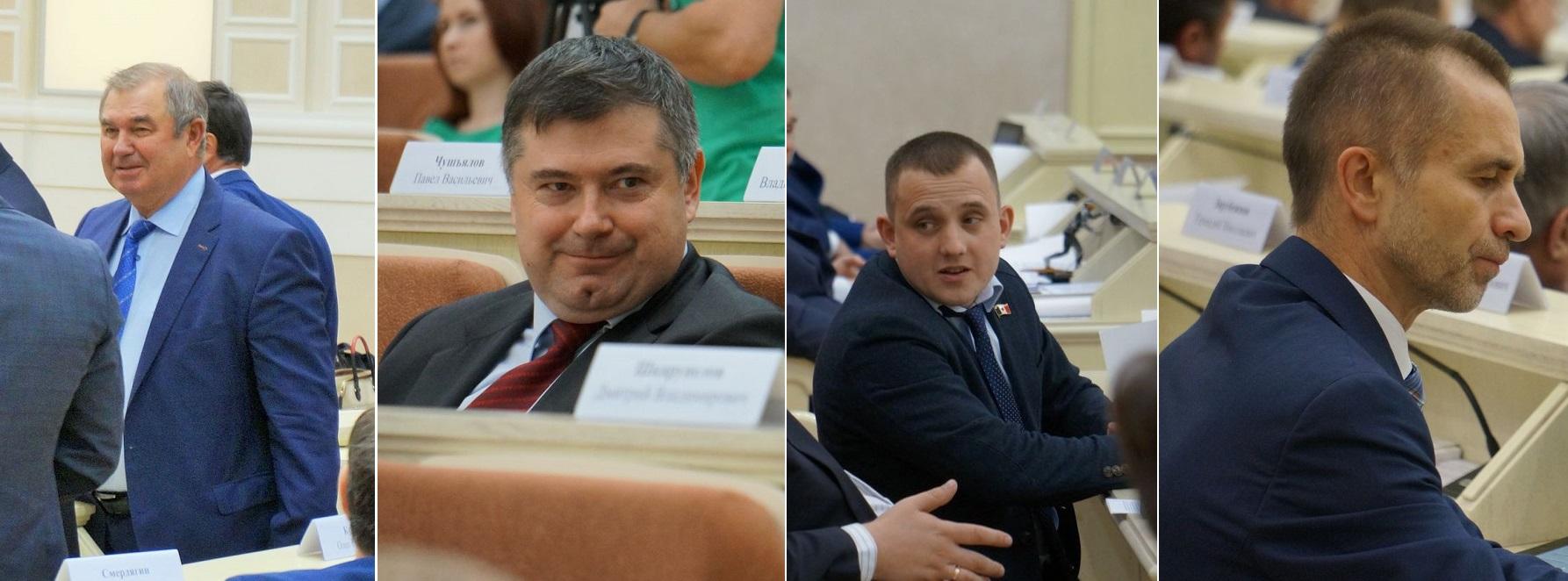 Алексей Прасолов, Владимир Чепкасов, Тимур Ягафаров и Фарид Юнусов. Фото: © «ДЕНЬ.org»