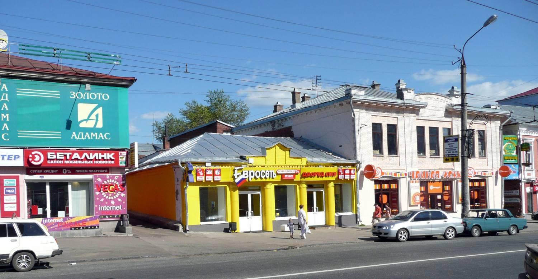 Так это здание выглядело за несколько лет до сноса. Фото: dm-iz.ucoz.com