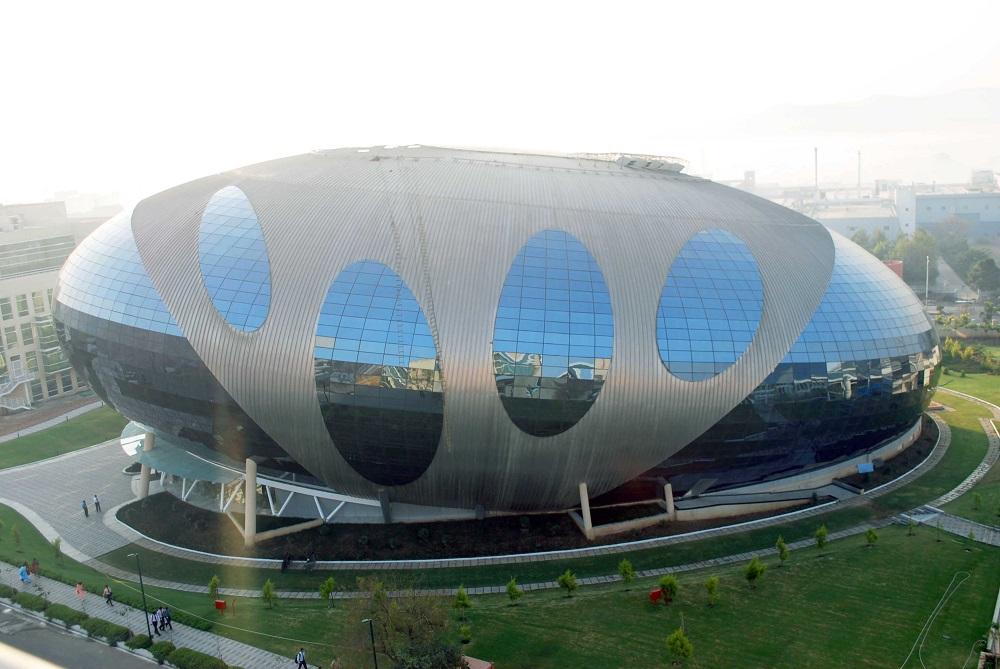 Вот такая штуковина, назвавшись ИТ-парком, высадилась, кажется, в Индии. Фото: geodesictechniques.com