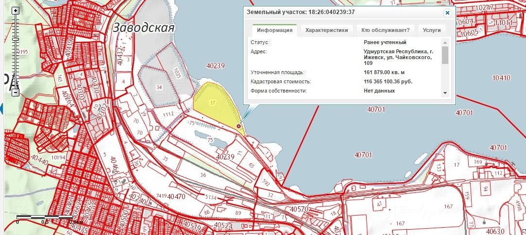Сегодня на этот изящный мыс, выделенный желтым, лучше ходить со «сталкером». Фото: скриншот с сайта maps.rosreestr.ru