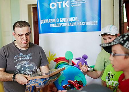 Давид Тетро не чужд благотворительности. Фото: russiasport.ru