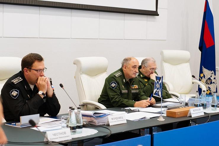 Руководство Спецстроя на последней коллегии. Фото: spetsstroy.ru