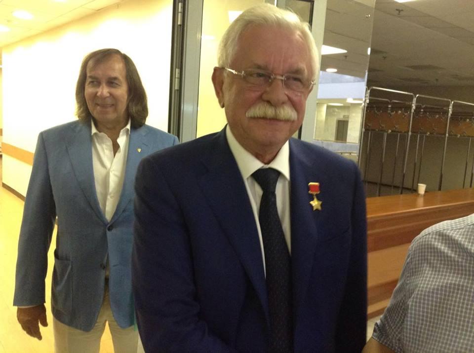 Александр Иншаков и Александр Руцкой. Фото: «ДЕНЬ.org»