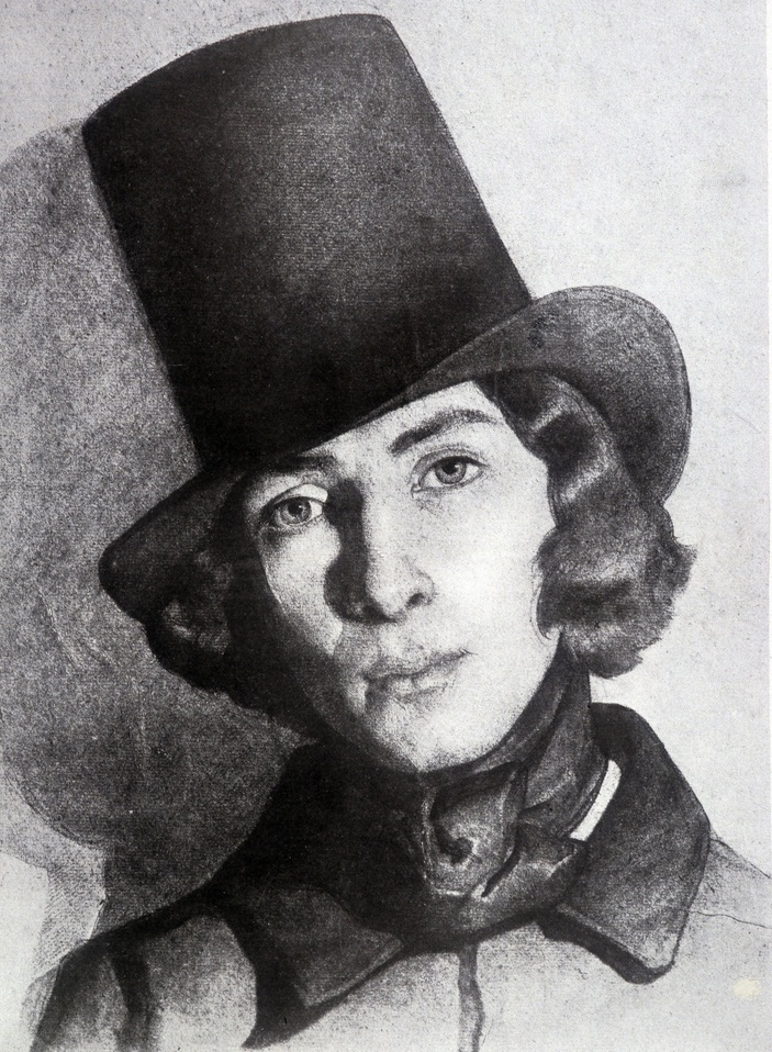 В мужском цилиндре Жорж Санд очень походила на Фредерика Шопена. Фото: свободные информационные источники