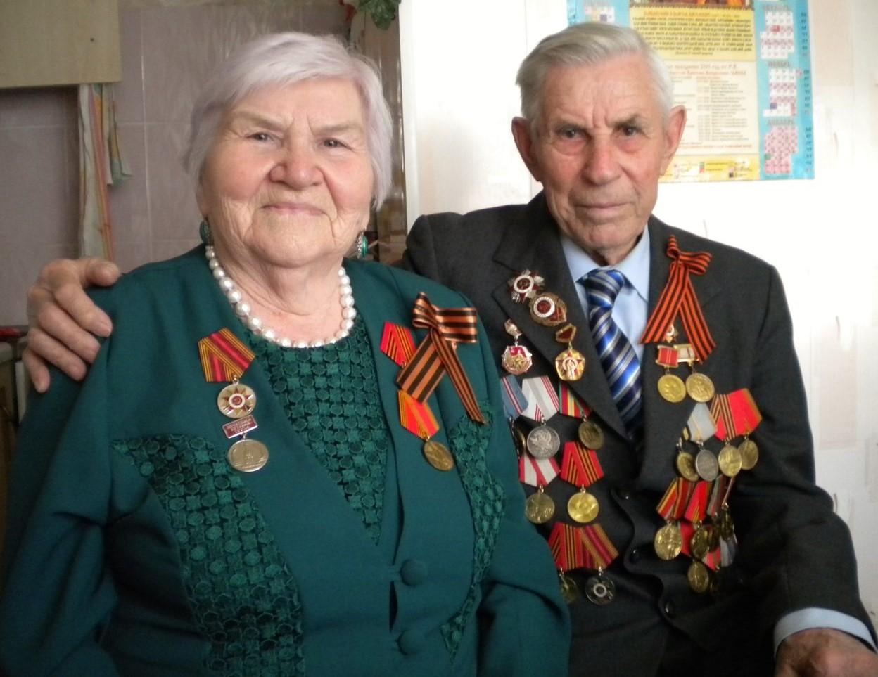 Михаил Евдокимович со своей женой Ниной Александровной