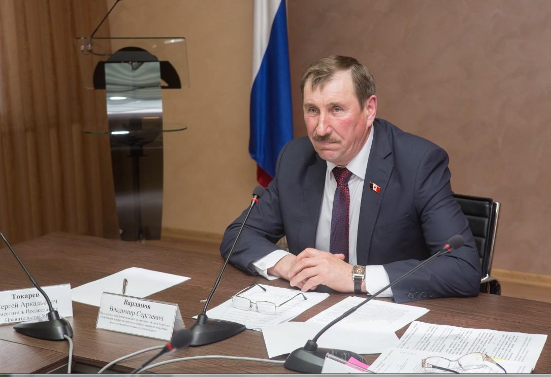 Владимир Варламов. Фото: пресс-служба Госсовета УР