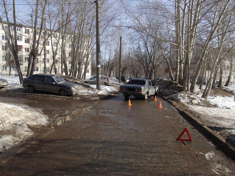 10-летнюю девочку-пешехода сбил водитель «Волги» вИжевске