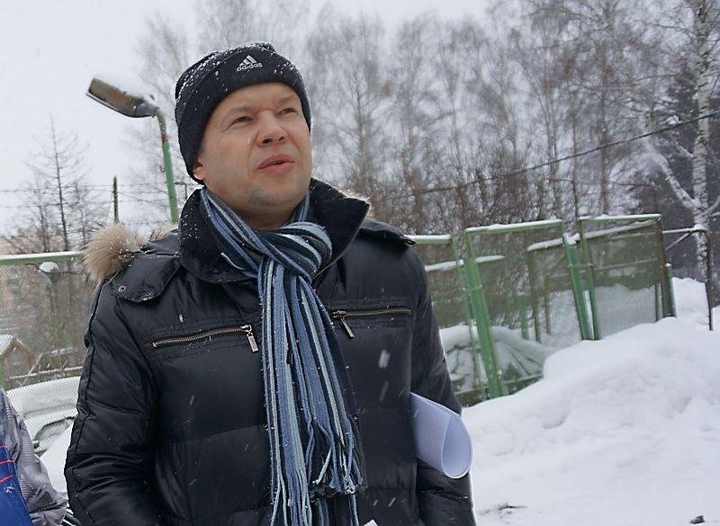 Директор «Горсервиса» Михаил Немтинов. Фото из архива газеты «День»