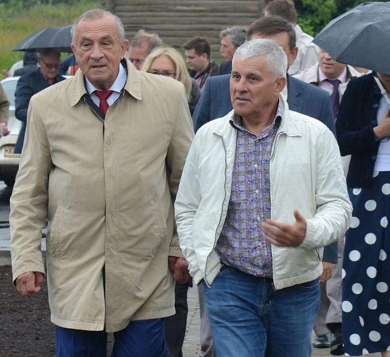 Александр Соловьёв и Виктор Хорошавцев. Фото udmurt.ru
