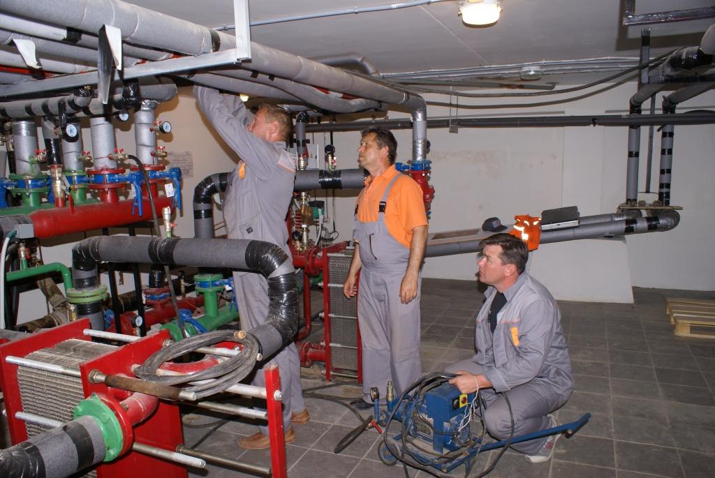 2 подготовка теплообменника к ремонту с оформлением документации водоводяной теплообменник расход 20 40 273