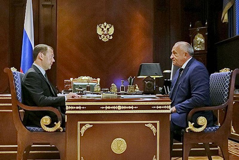 Фото пресс-служба Правительства РФ