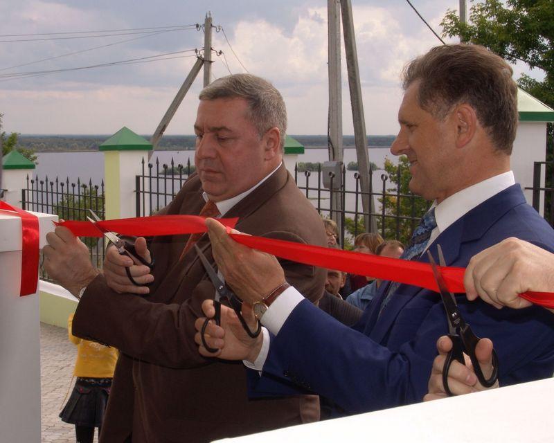 Михаил Гуцериев и Александр Волков, 8 августа 2006 года. Фото из архива газеты «День»