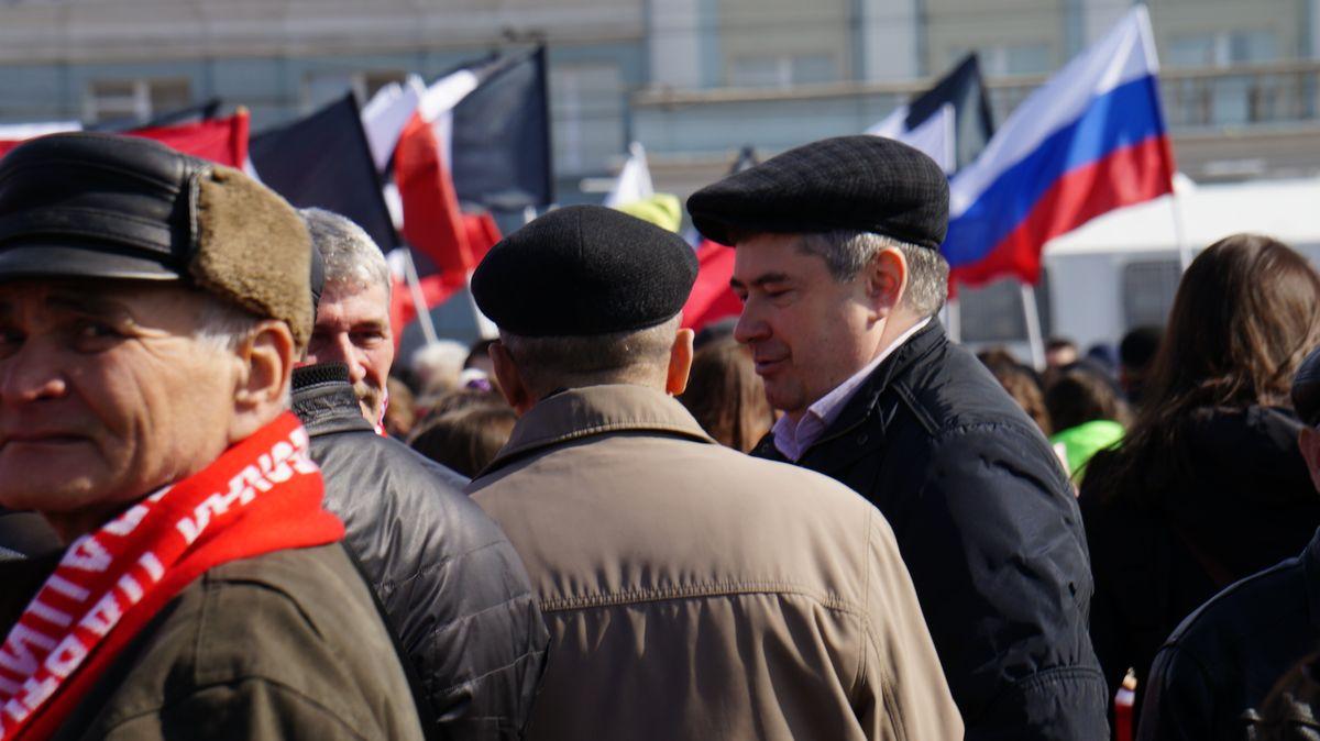 Представители партии КПРФ. Фото: © «ДЕНЬ.org»