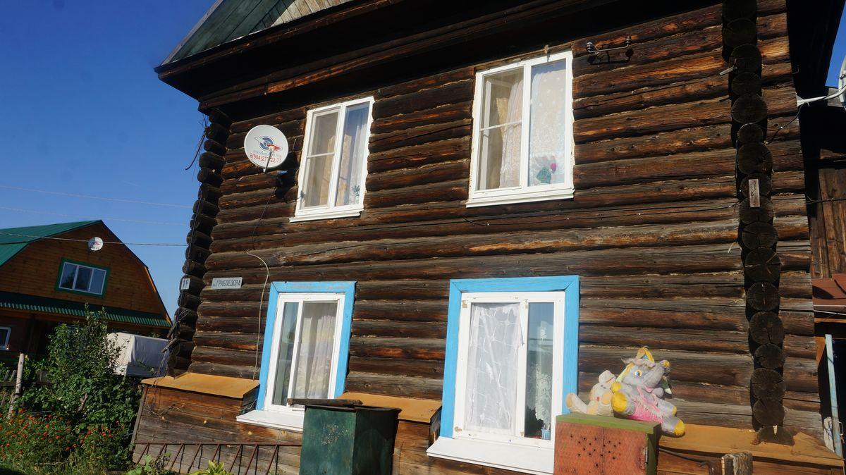 Дом, в котором живет бабушка. Фото ©«ДЕНЬ.org»