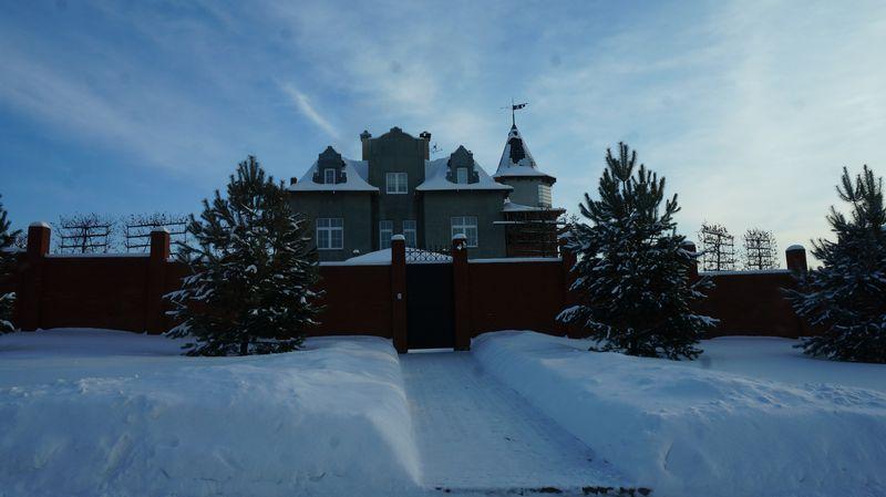 Дом Дениса Агашина пока без облицовки.Фото: «ДЕНЬ.org»