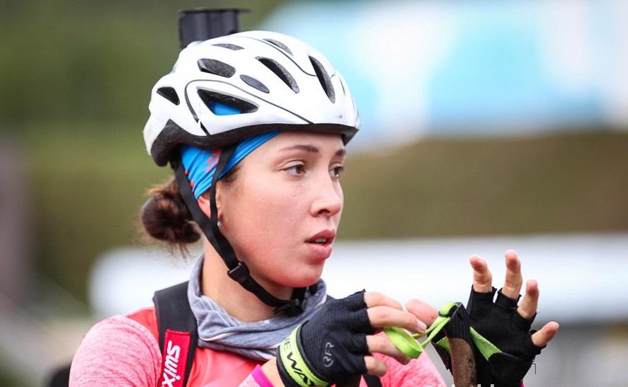 Дарья Виролайнен выиграла спринт наЧР полетнему биатлону вЧайковском