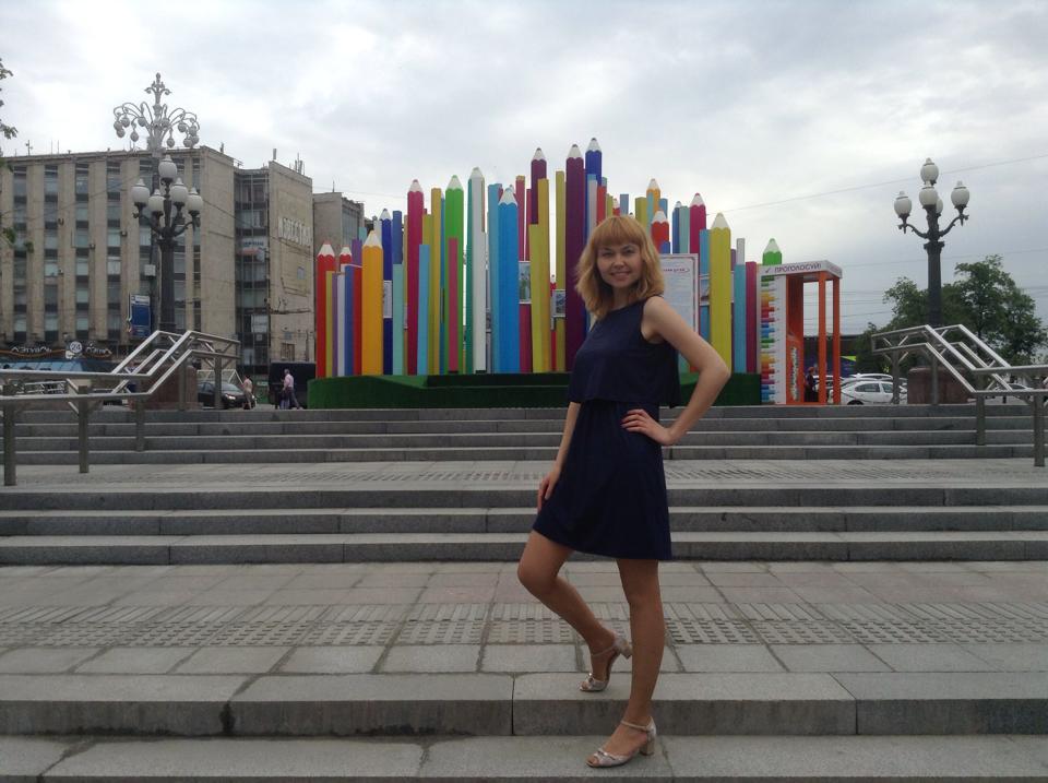 Елена Сосновская. Фото с ее страницы в «Фейсбуке».
