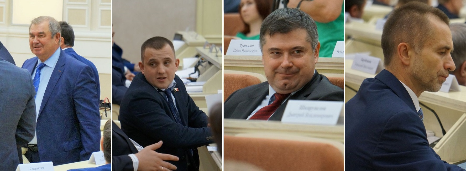 Алексей Прасолов, Тимур Ягафаров, Владимир Чепкасов, Фарид Юнусов. Фото: © «ДЕНЬ.org»