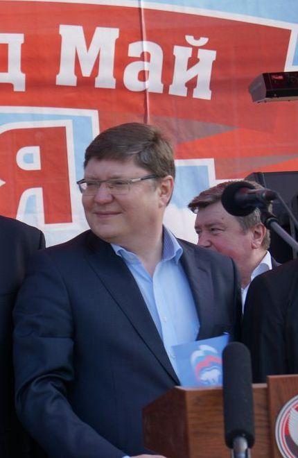 Андрей Исаев на Первомае в Ижевске. Фото: ©«ДЕНЬ.org»