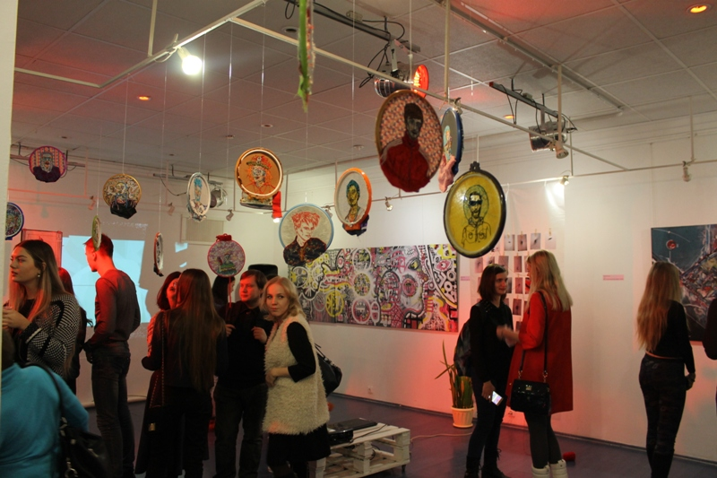 Фестиваль абстрактного искусства BLUSH в арт-центре ГРИФОН. Фото: © «ДЕНЬ.org»