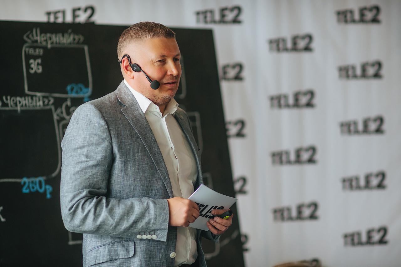 Марат Кабанов. Фото: пресс-служба Tele2 в Удмуртии
