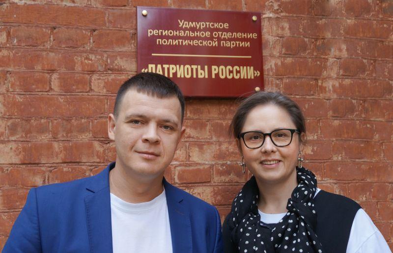 Тимофей Клабуков и Роза Ахмедшина. Фото автора