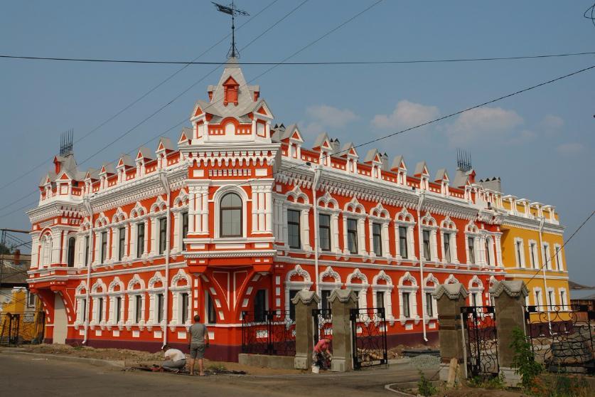 Недавно отреставрированный дом Башенина в Сарапуле. Фото: izvestiaur.ru