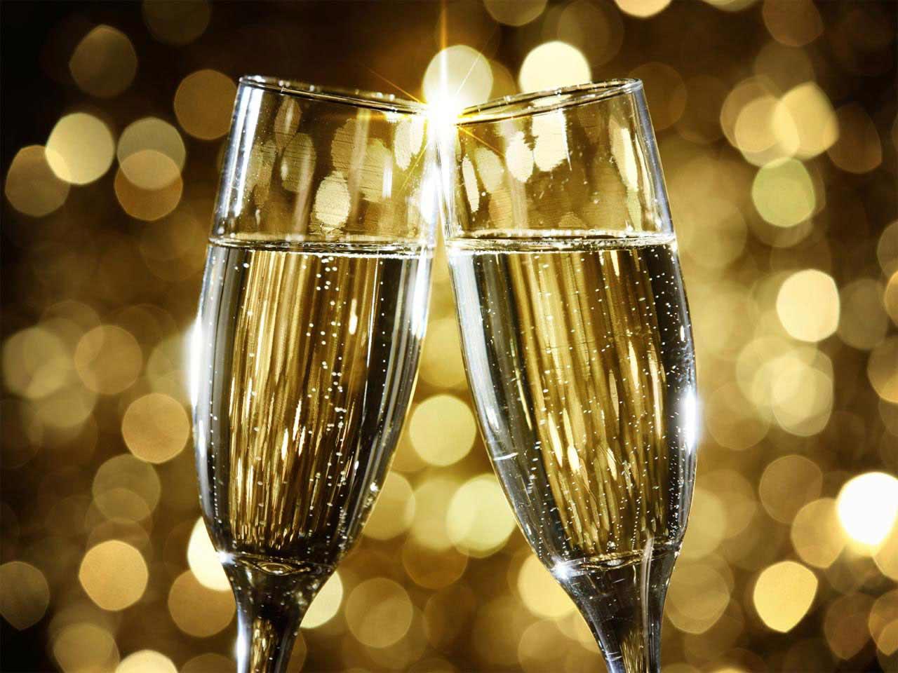 Первым снегом, шампанское поздравление картинки