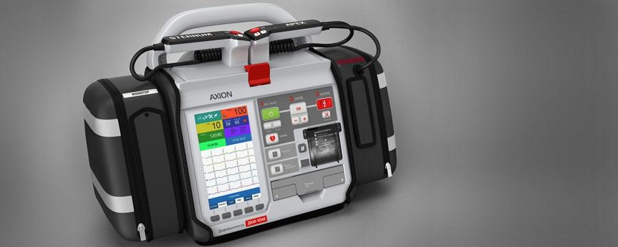 """Последняя модель дефибриллятора """"Аксион"""" запущена в производство в 2011 году. Фото: пресс-служба """"Аксион-Холдинг""""."""