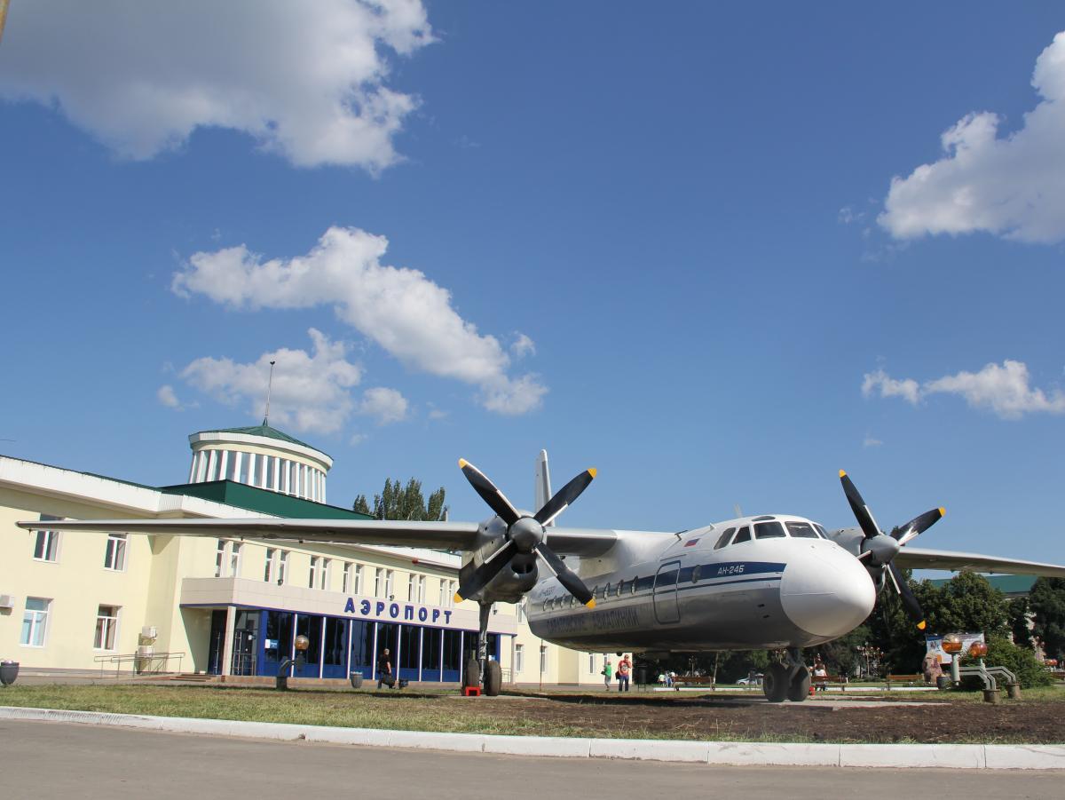 Саратовский аэропорт. Фото: om-saratov.ru