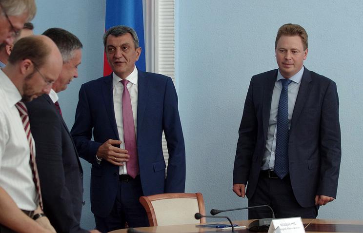 Сергей Меняйло и Дмитрий Овсянников. pravdoryb.info