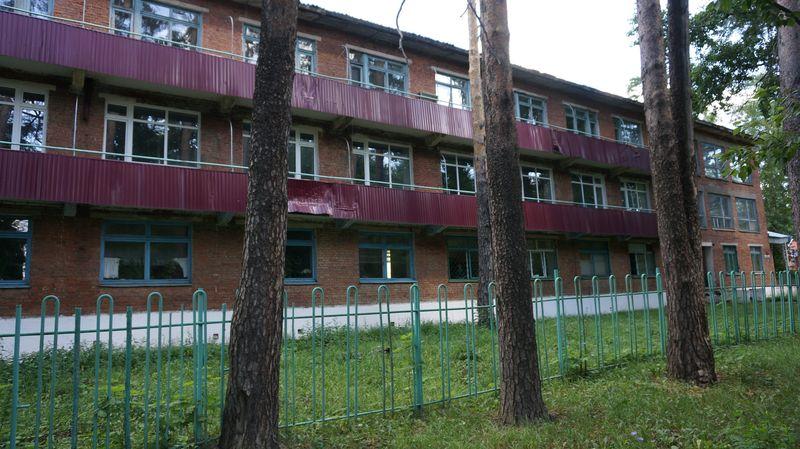 Здание Сарапульского тубдиспансера. Фото: © «ДЕНЬ.org»