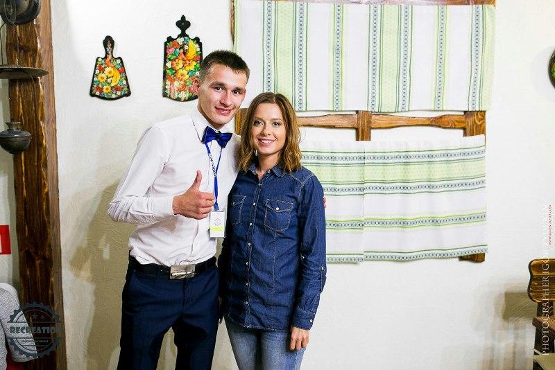 Андрей Актыбаев с Юлией Савичевой. Фото: vk.com