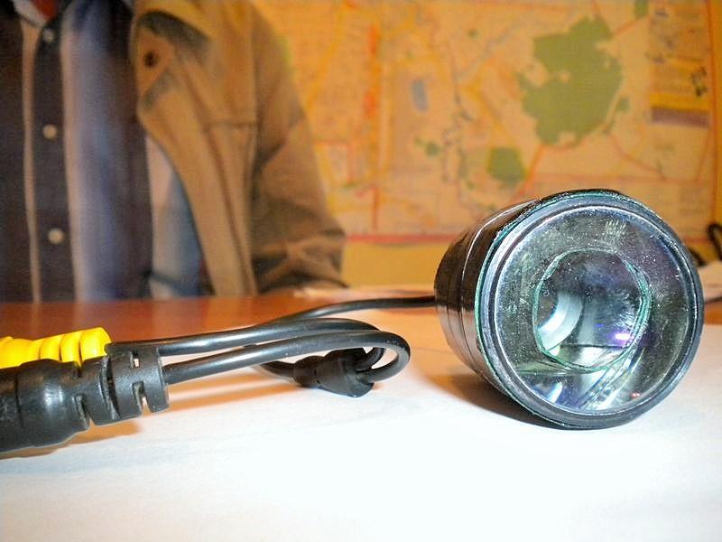 Один из приборов с видеокамерой. Фото ©День.org