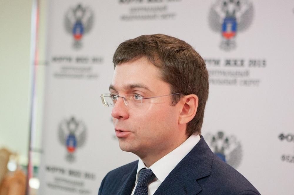 Замминистра строительства и ЖКХ России Андрей Чибис. Фото: lipetskmedia.ru