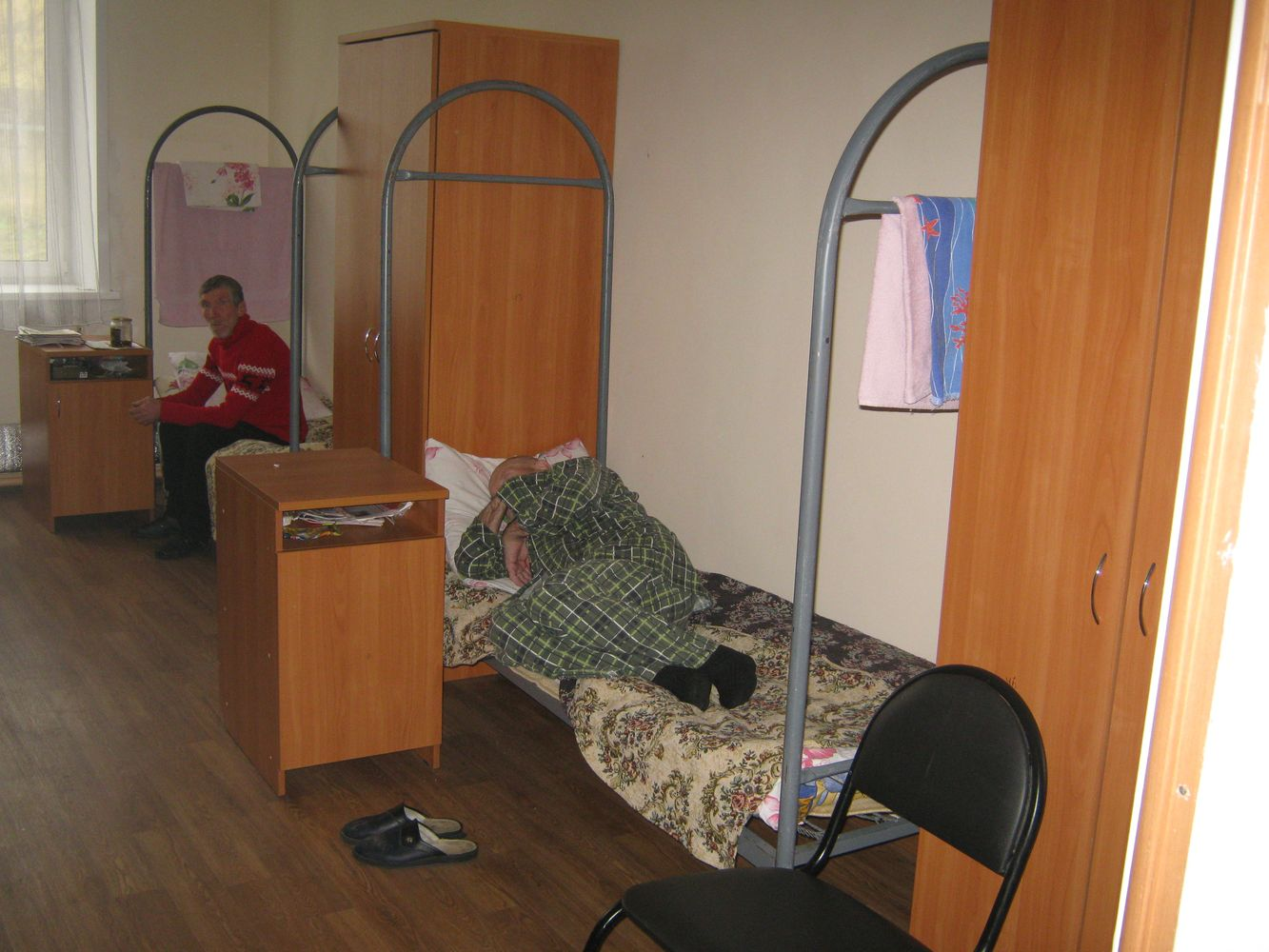 Социальная гостиница для бездомных в Ижевске. Фото: © «ДЕНЬ.org»