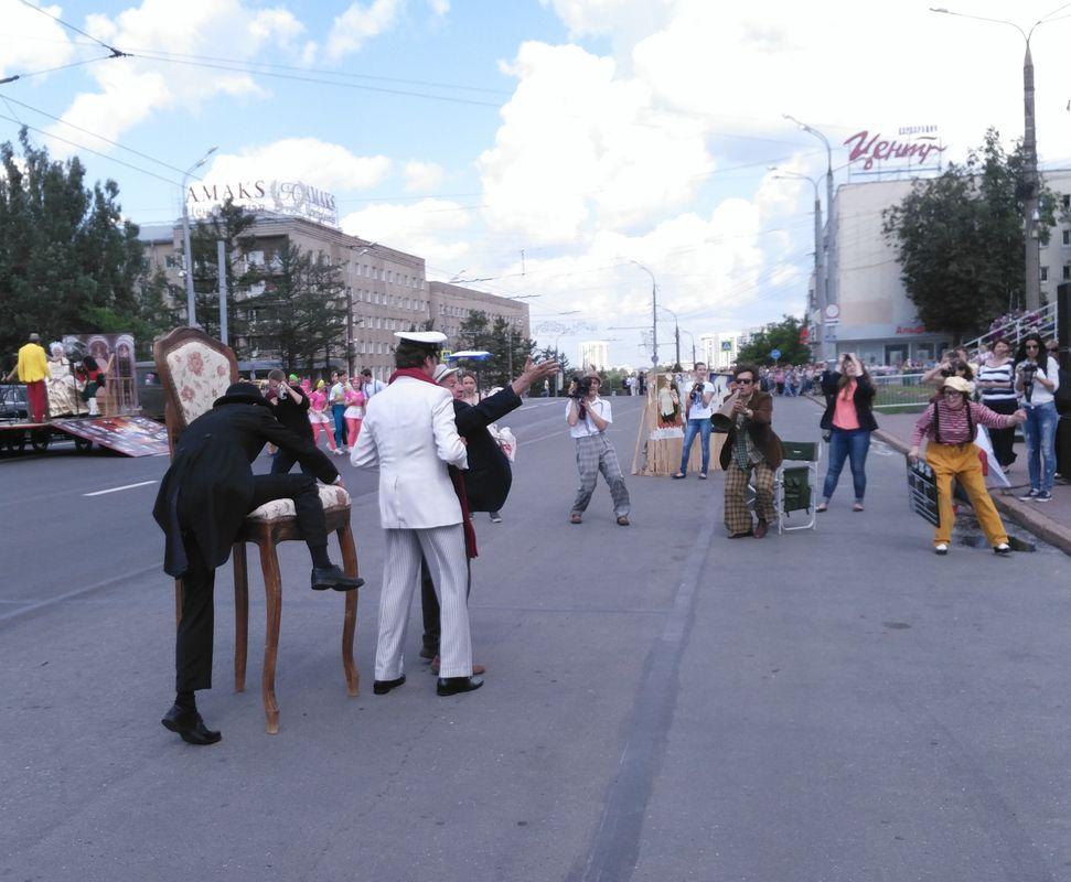 Остап Бендер и компания. Фото: © «ДЕНЬ.org»